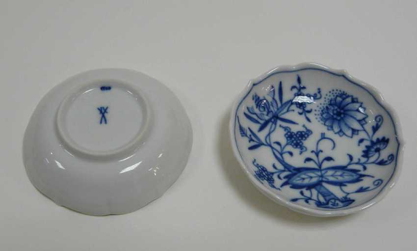 Six Confectionery Bowl Meissen - photo 2