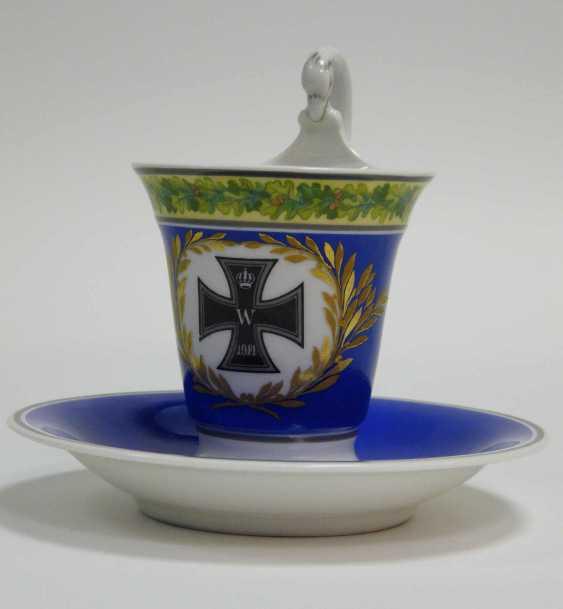 "Cup with saucer KPM Berlin ""Iron cross"" - photo 1"