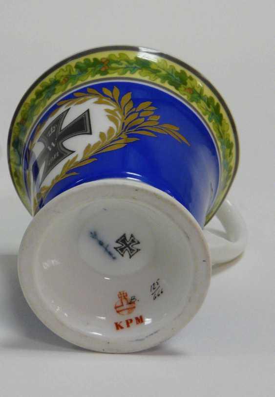 "Cup with saucer KPM Berlin ""Iron cross"" - photo 2"