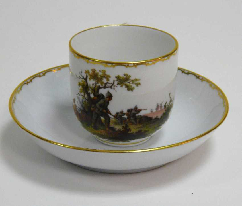 Cup Of Meissen End Of World War I. - photo 3