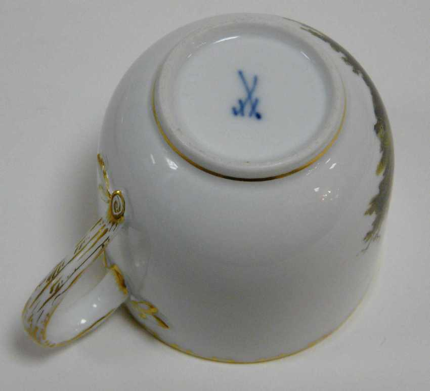 Cup Of Meissen End Of World War I. - photo 4