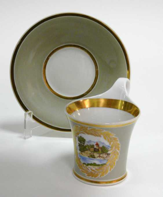 Cup with saucer KPM Berlin - photo 1