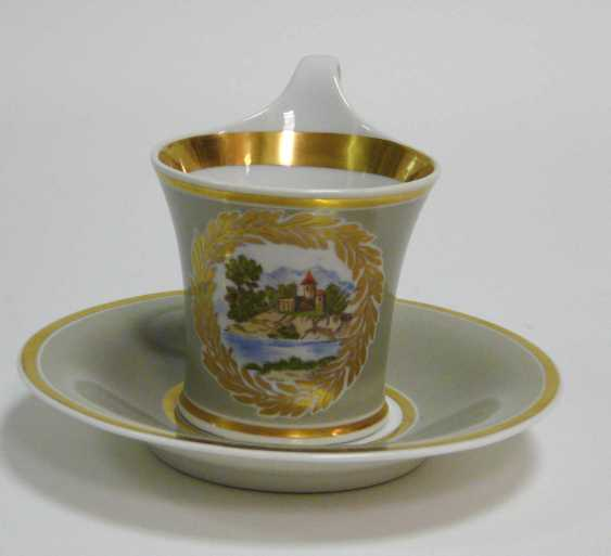 Cup with saucer KPM Berlin - photo 2