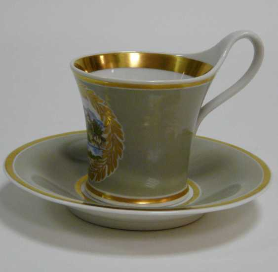 Cup with saucer KPM Berlin - photo 3
