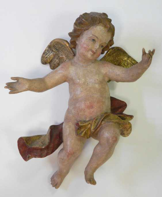 Pair Of Baroque Angels - photo 3