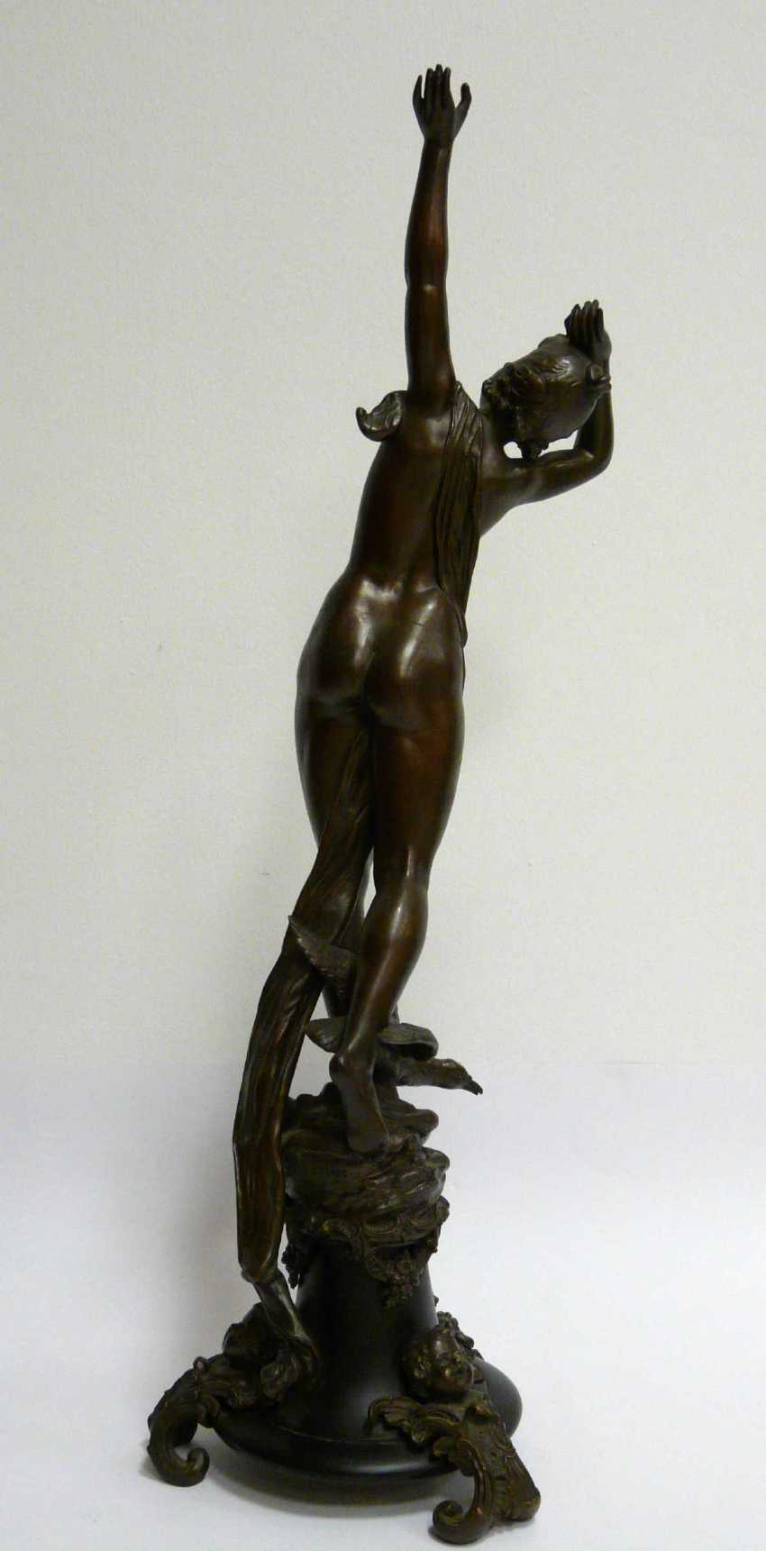Hermann Götze, Standing, to the sky-looking nymph - photo 3