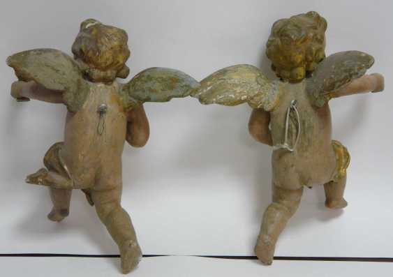 Pair Of Baroque Angels - photo 2