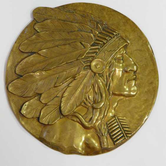 Two Bronze Plaques - photo 3