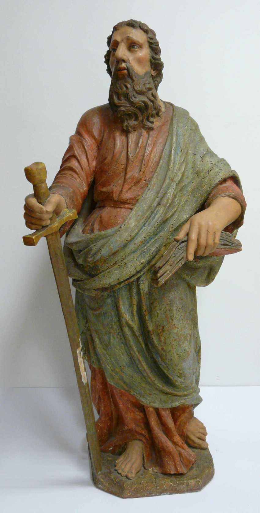 Great sculpture of the Apostle Paul - photo 1