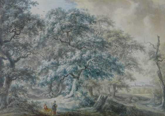 Johann Albrecht Friedrich Rauscher, resting under oak trees in the upper Franconian landscape (1784) - photo 1