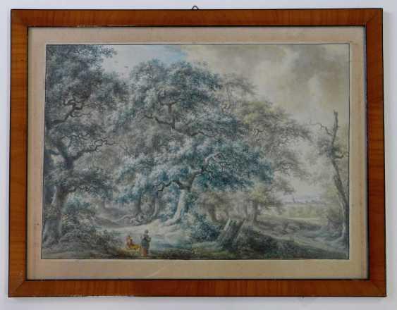 Johann Albrecht Friedrich Rauscher, resting under oak trees in the upper Franconian landscape (1784) - photo 2
