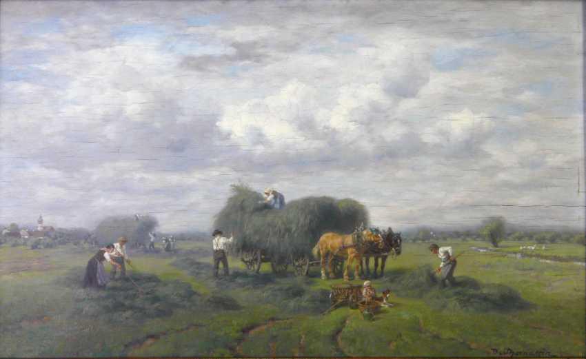 Désiré Thomassin, Idylle bei der Heuernte - photo 1