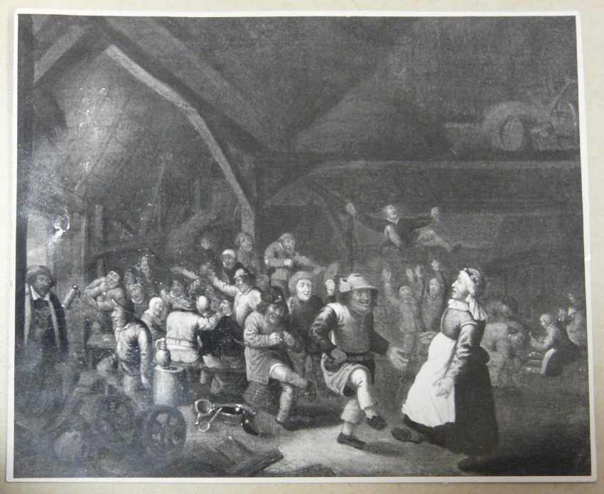 Victor Mahu (attr.), Lively Dutch tavern scene - photo 2
