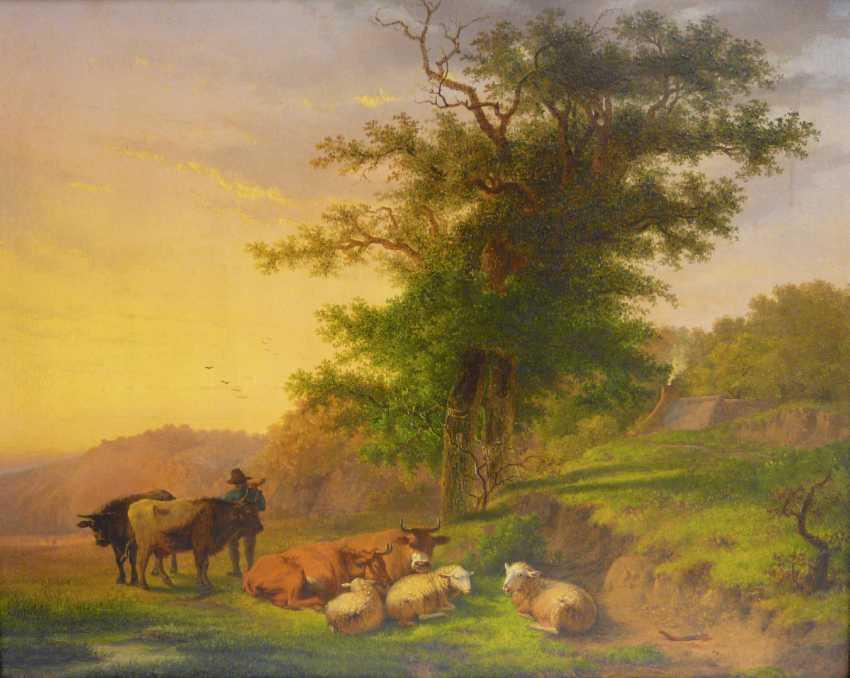 C. Felix van Espen, locking in the dusk (Pastoral) - photo 1