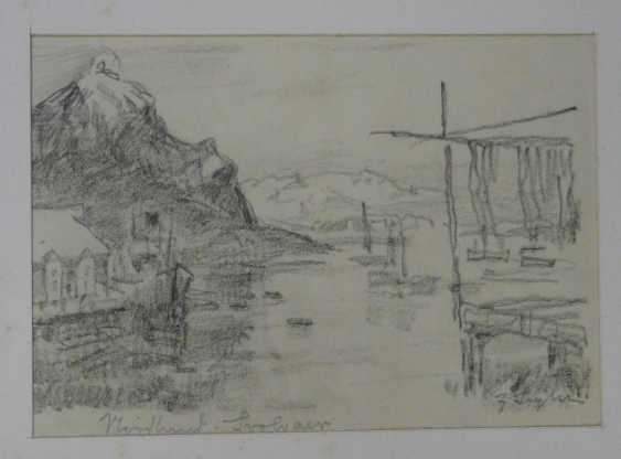 Julius Seyler, Elf sketches, with landscapes, horses, shell collectors, etc.  - photo 2