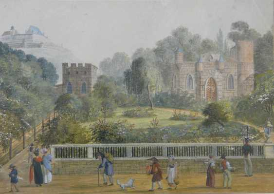 Coburg, The small rose garden (In the courtyard garden, around 1830) - photo 1