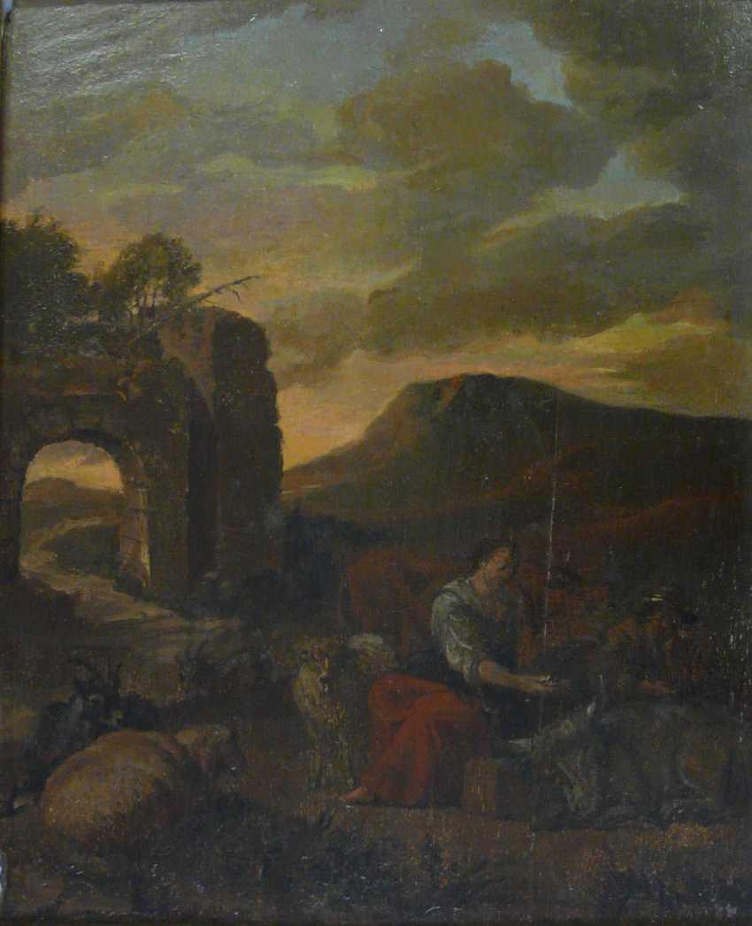 Shepherds in the dusk - photo 1