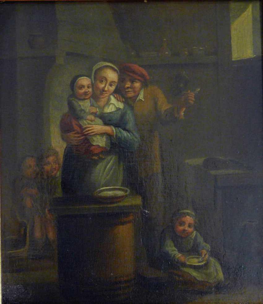 Happy family Idyll (17. Century, Flemish / Dutch ?) - photo 1