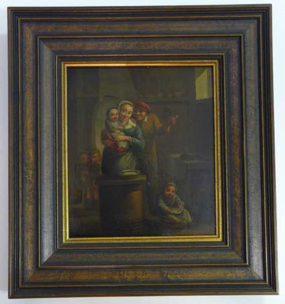 Happy family Idyll (17. Century, Flemish / Dutch ?) - photo 2