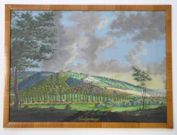 C. Strasser, Summer landscape near Coburg with Schloss Callenberg (around 1830/40) - photo 2