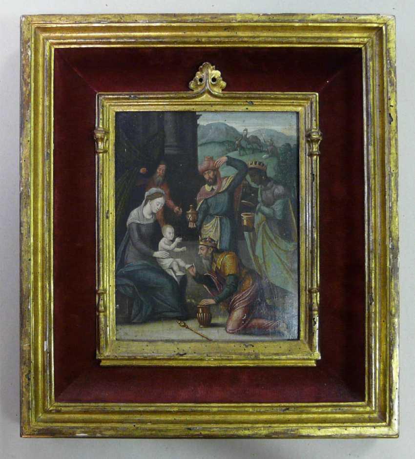 Flemish master of the 16th century. Century (?), The adoration of the Magi - photo 4