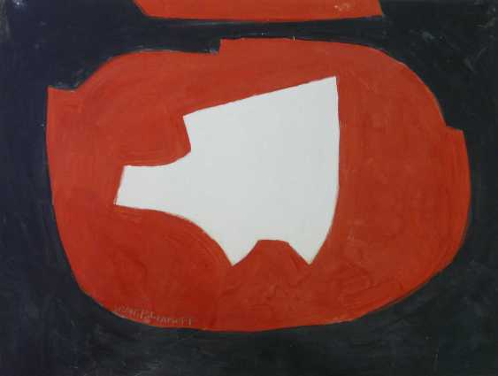 Serge Poliakoff Abstract composition in Black, Red and White (1968) - photo 1
