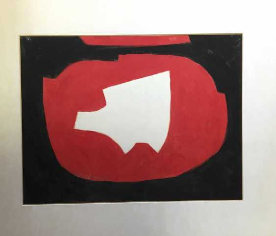 Serge Poliakoff, Composition Abstraite en Noir, Rouge et Blanc (1968) - photo 2