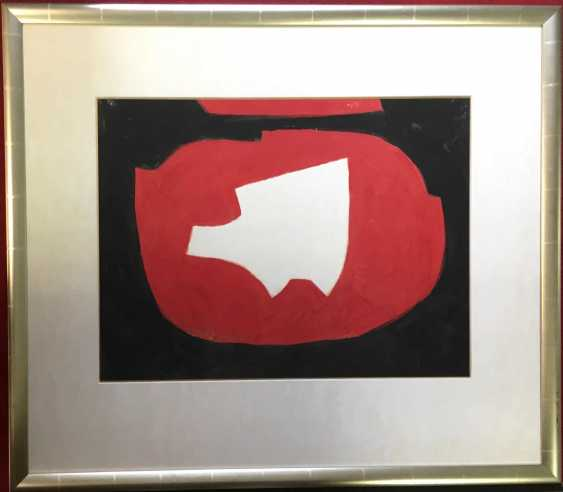 Serge Poliakoff Abstract composition in Black, Red and White (1968) - photo 3
