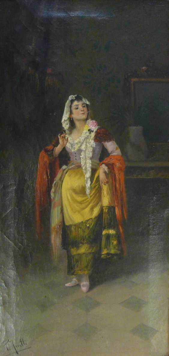 Pietro Toretti, a Neapolitan in a festive costume - photo 3
