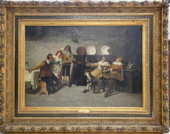 F. Morelli, Exuberant Celebration in the tavern - photo 2
