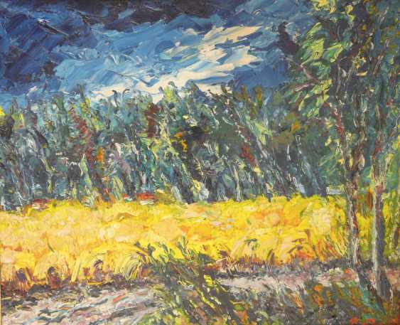 Pierre Boffin, landscape under a blue sky - photo 1