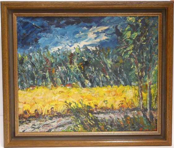 Pierre Boffin, landscape under a blue sky - photo 2