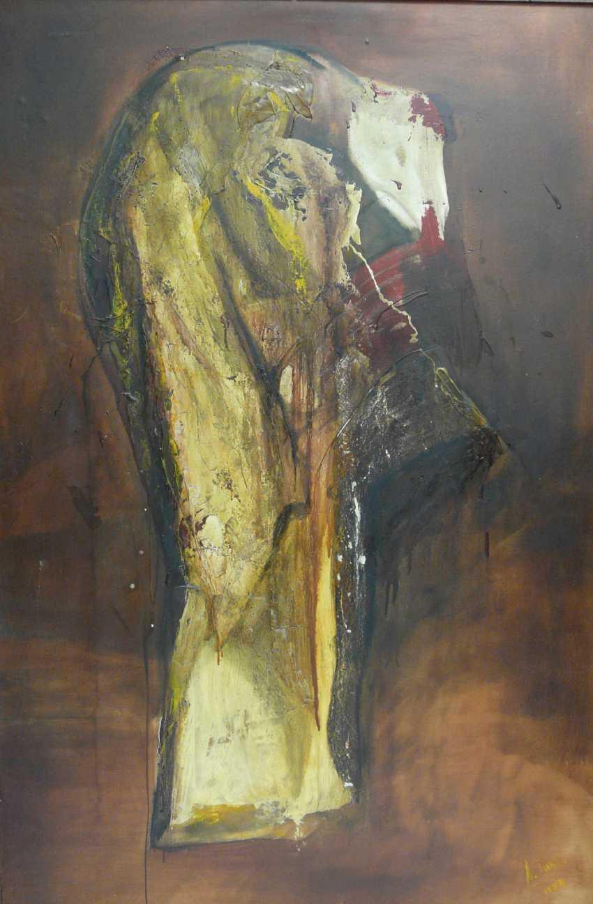 "Antonio Bueno Tubia, Variation to Francesco Goya, ""Disparate de Miedo"" No. 2 (""folly of fear) - photo 1"