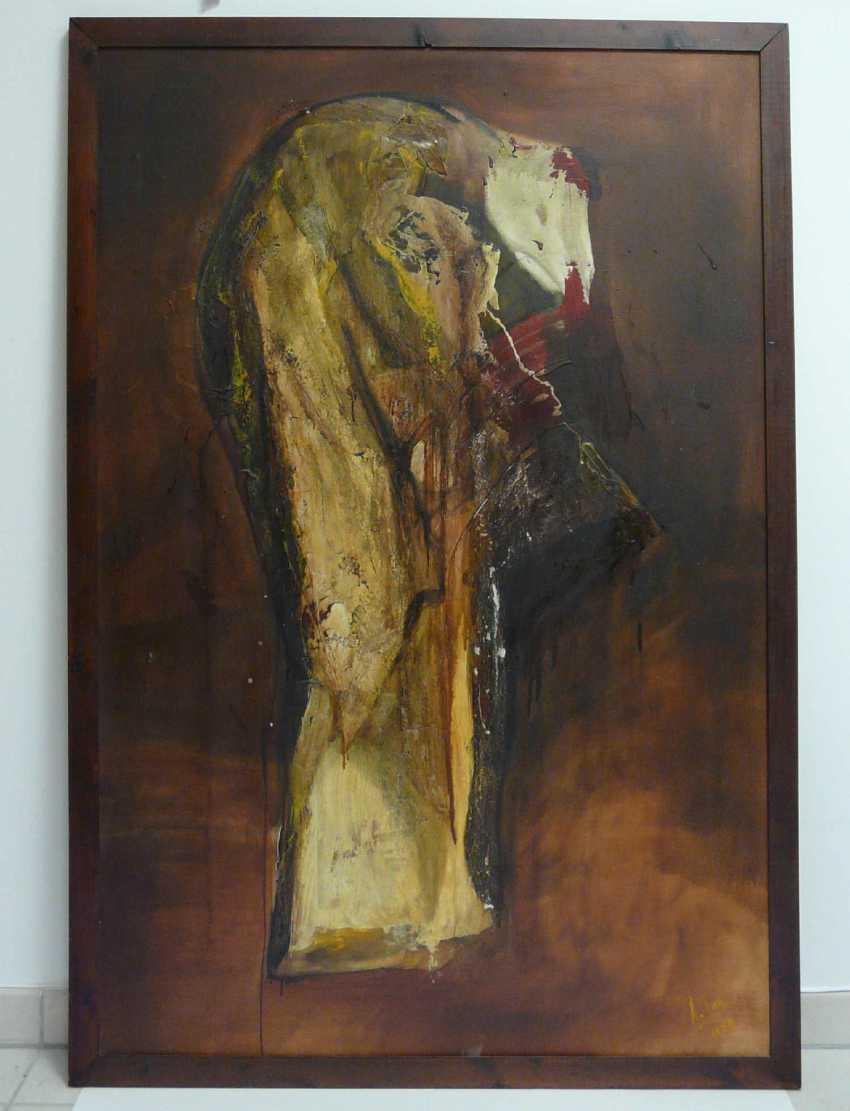 "Antonio Bueno Tubia, Variation to Francesco Goya, ""Disparate de Miedo"" No. 2 (""folly of fear) - photo 2"