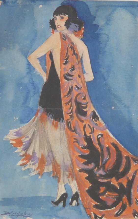 Delphin Enjolras, portrait of an art Nouveau lady - photo 1