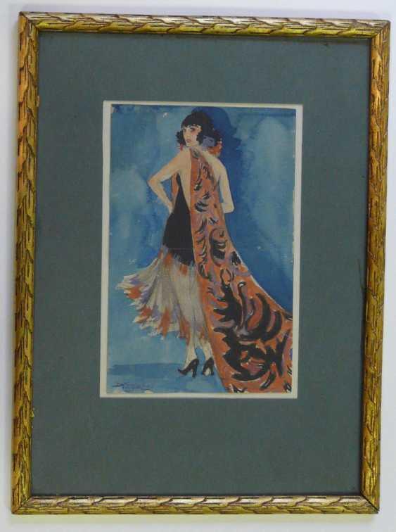 Delphin Enjolras, portrait of an art Nouveau lady - photo 2