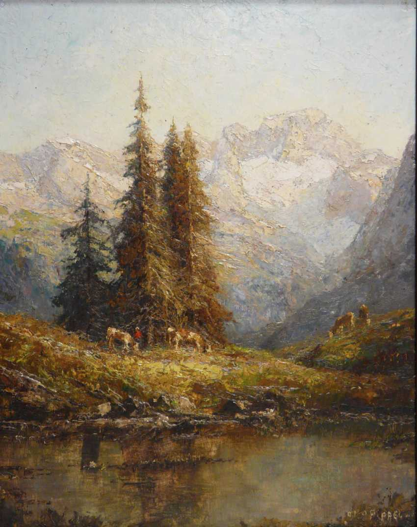 Otto Pippel, views of the Dachstein - photo 1