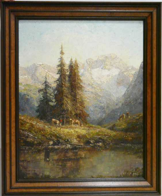 Otto Pippel, views of the Dachstein - photo 2