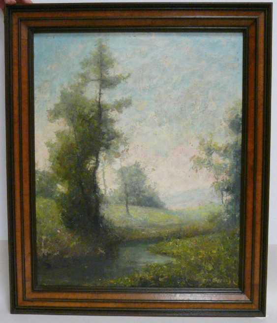 Otto Pippel, spring in the blossoming meadow landscape  - photo 2