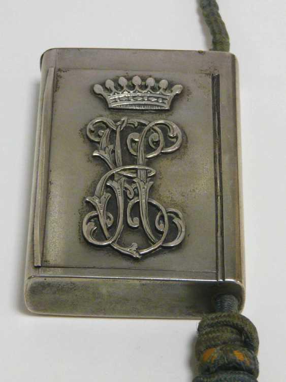 Feine russische Silber - Snuff-box of the Freiherrn Emanuel Herzog - photo 1