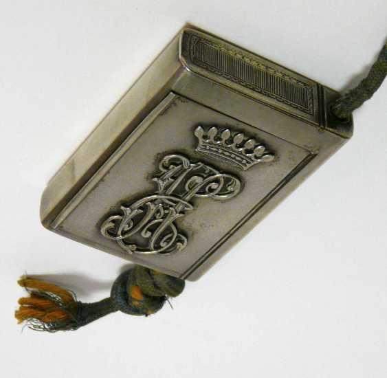 Feine russische Silber - Snuff-box of the Freiherrn Emanuel Herzog - photo 4