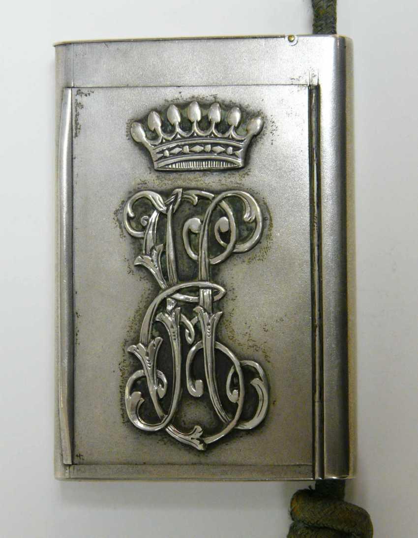Feine russische Silber - Snuff-box of the Freiherrn Emanuel Herzog - photo 7