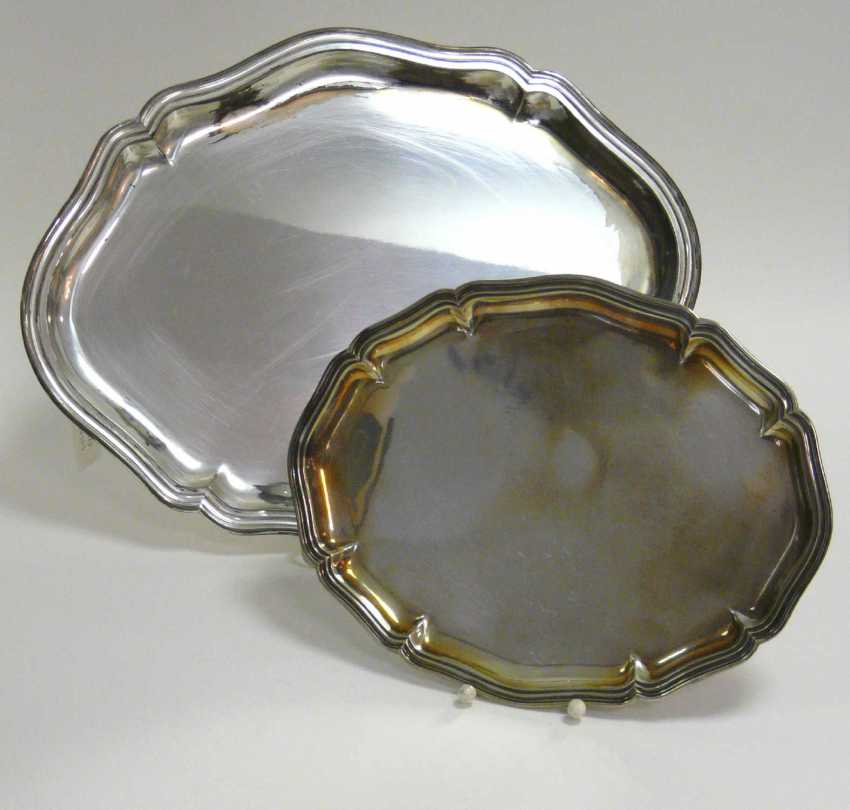 Two Silver Trays - photo 1