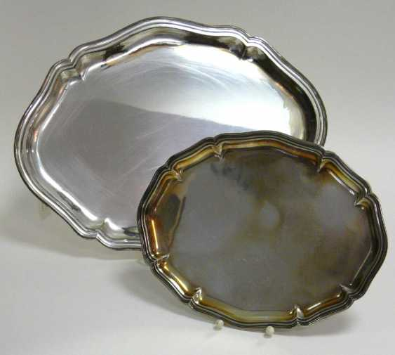 Two Silver Trays - photo 2