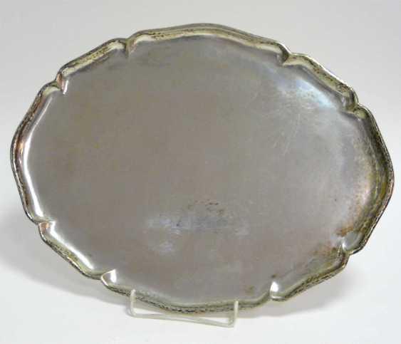 Ovales Silber - Tablett - photo 1