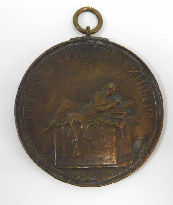 Sechs Bronze - Plaketten , u. a. (n. ?) Massimiliano Soldani - photo 3