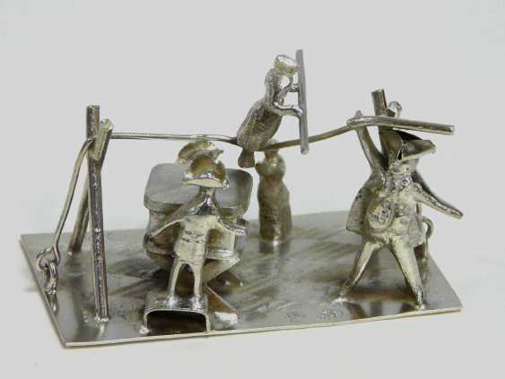 Large collection of Miniatures (silver, silver Plated) - photo 4