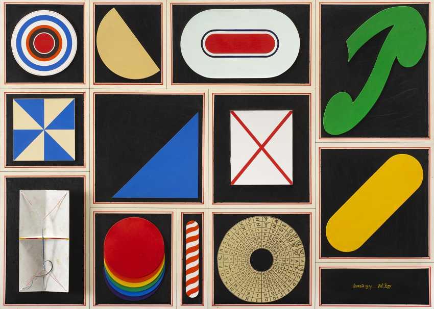 Zwölf elemente, 1974 - Foto 1