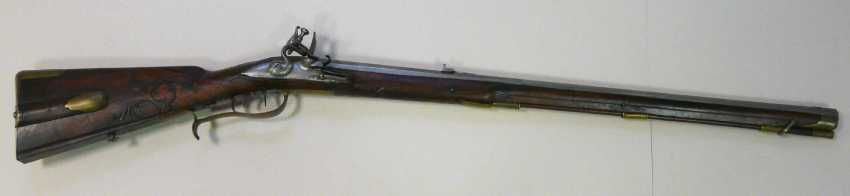 Flintlock Rifle Bamberg 1716 J. Fr. Limmer - photo 1
