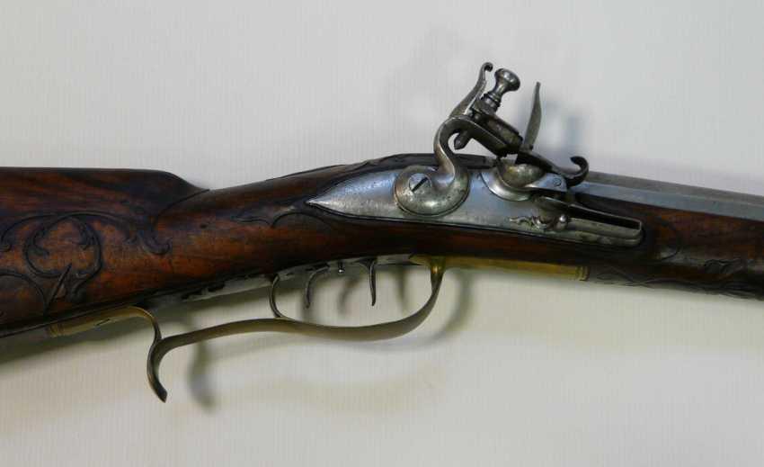 Flintlock Rifle Bamberg 1716 J. Fr. Limmer - photo 2